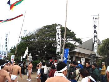 ザ・ミソギ!「青島神社裸参り」