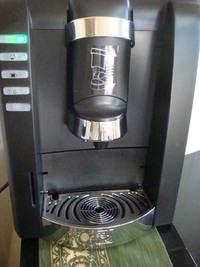 コーヒーサービス中