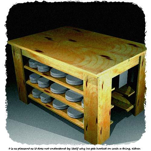 調理用テーブルを作りたい。