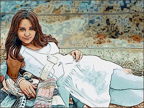 Toon image movie の「オリジナルスムーズ」。