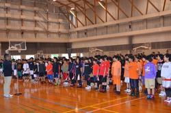 第4回みやざき中央ファン拡大事業 ミニバスケットボール大会