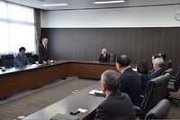 宮崎日大高等学校女子駅伝部へ青果物贈呈!