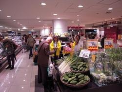胡瓜試食宣伝販売IN神戸