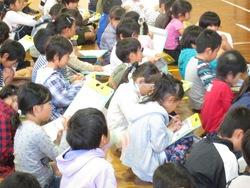 胡瓜栽培について食育授業