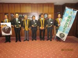 やまいき南瓜の宮崎市長贈呈