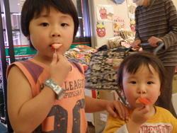 イチゴ試食宣伝活動 part.2