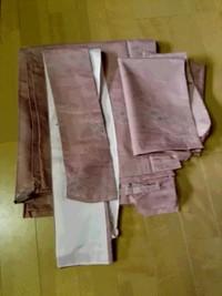 和服から洋服へ変身するべく解体中(^-^)