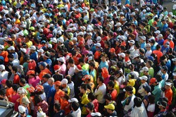 第27回 青島太平洋マラソンでのファン拡大事業によるきゅうりPR
