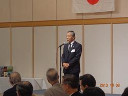 宮崎在京市人会でのJA宮崎中央農産物PR
