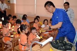 保育園で食育授業
