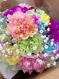 +++くるくるお花のスタイ+++