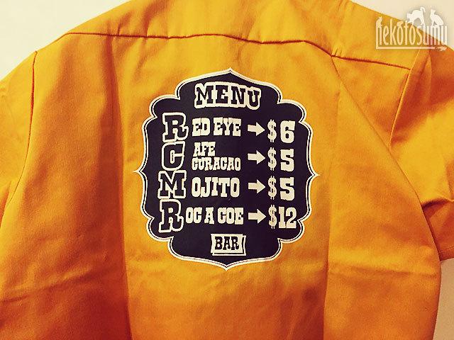 RCMR Bar ワークシャツ届きました