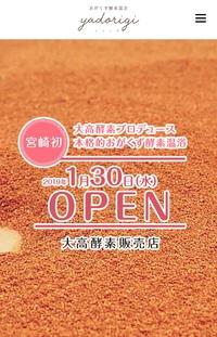 宮崎初!酵素温浴ヤドリギ1/30オープン(*'∀'人)♥*+