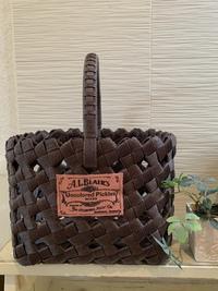 石畳編みのカゴ^ ^