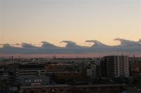 ビラボン雲が首都圏に発生!