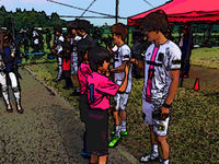 九州リーグ観戦とサッカースクール
