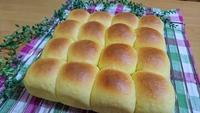 【カボチャちぎりパン】