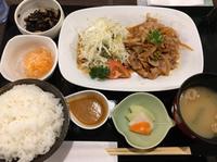 豚の生姜焼き定食 こはる食堂 2018/07/06 12:58:09