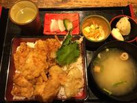 とり天重定食 あっぱれ食堂 2018/07/03 12:50:18