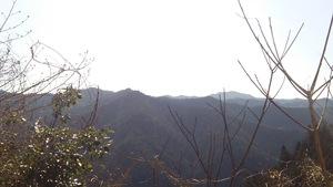 高野山を望む
