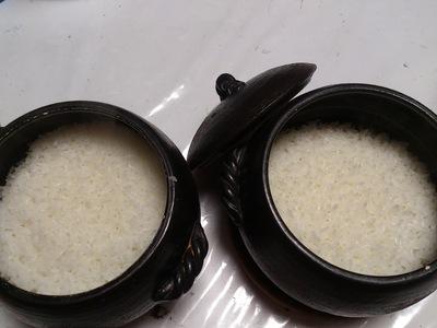 お米の食べ比べ