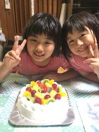 誕生日(^^)