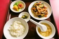 ★芳士の老舗の中華屋さん「紅蘭」の豚肉とナス炒め★