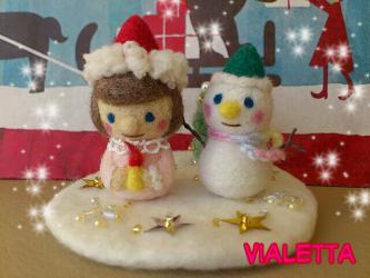 +++羊毛フェルトのクリスマス♪+++