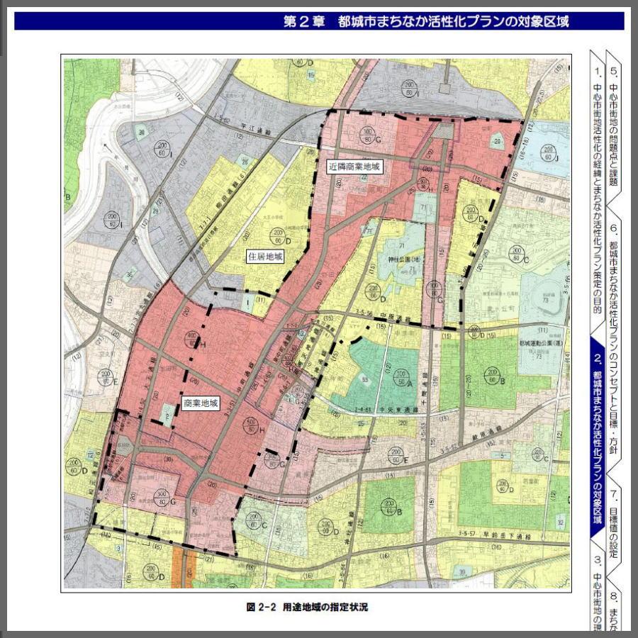 2-1:「 中央通り 」 は街の背骨足るだろうか