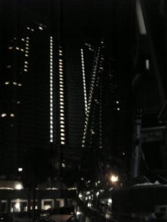 ホテルオーシャンの夜景