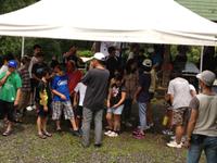 子ども探検キャンプスタート
