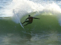 王道のサーフィン