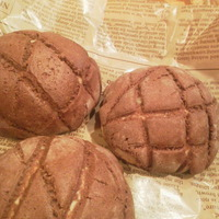 チョコメロンパン♪