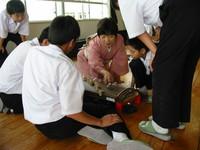 「ふるさと先生こんにちわ」の授業が始まりました!