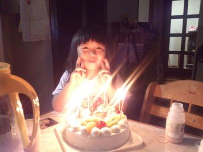 今日は、次女の誕生日です。