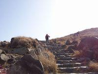 韓国岳登山・再び