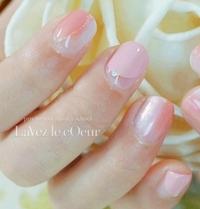 ピンクのレイヤード