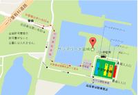11/23ビッグフリマ当日の臨海公園の地図