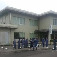 高鍋町消防団 訓練
