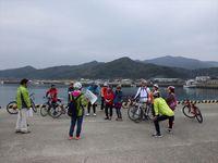 今年度も渚サイクリングに協力。