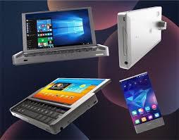 開けばノートPC、スライドすればタブレット、中にはスマホな「Graalphone」