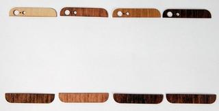 大人スマホ。iPhone用「木製パネル」なら、社交界でも自慢できます