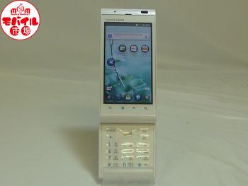 【モバイル市場】美品★au☆AQUOS PHONE IS11SH☆税込白ロム★入荷!
