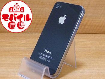 【モバイル市場】美品☆SoftBank★iPhone4 16GB☆格安白ロム☆入荷!