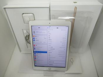 新品同様☆au iPad 32GB 2017年春モデル★MPG42J/A☆Wi-Fi+Cellular★買取りました♪
