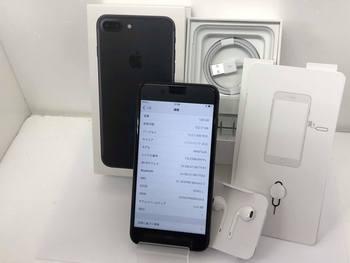 美品☆SoftBank★iPhone7 Plus 128GB☆MN6F2J/A★ブラック☆買取ました♪