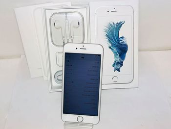 新品同様☆UQモバイル iPhone6S 32GB★MN0X2J/A☆シルバー★買い取りました♪