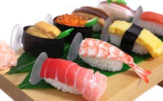 お寿司8貫セットのスマホスタンド