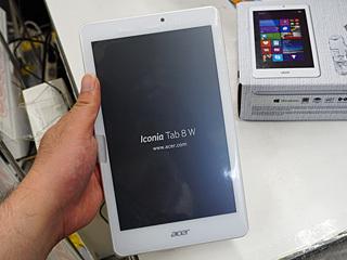Acerの8型Win8.1タブレットが税込16,800円で大量販売中