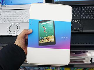 「Nexus 9」のLTEモデルが発売、Android 5.0搭載の8.9型タブレット